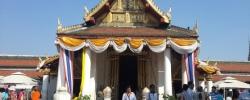 บรรยากาศก่อนงานสมโภชพระพุทธชินราช ณ บริเวณวัดพระศรีรัตนมหาธาตุวรมหาวิหาร