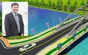 ทุ่มงบ 300 ล้านบาท ปรับภูมิทัศน์ริมแม่น้ำน่าน - สร้างสะพานข้ามแม่น้ำน่าน