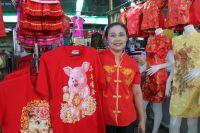 ร้านค้าเริ่มนำชุดกี่เพ้า วางขายรับเทศกาลตรุษจีน ราคาเริ่มต้น 299 บาท